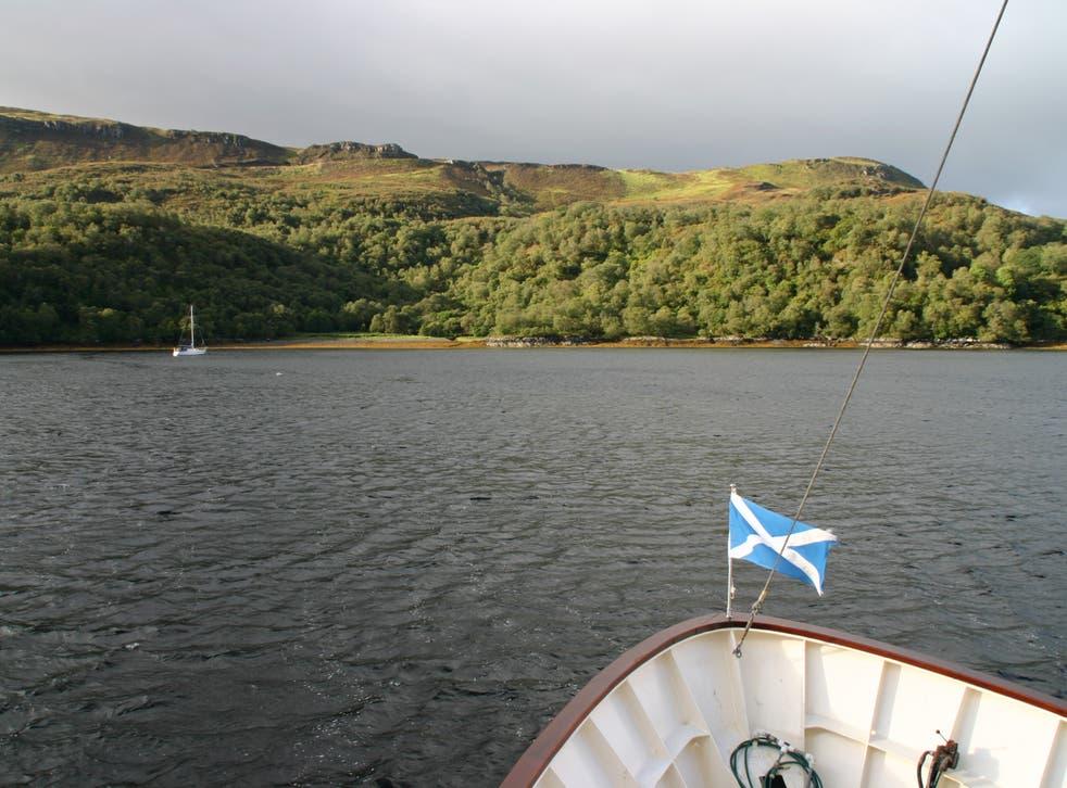 Aboard the Glen Shiel