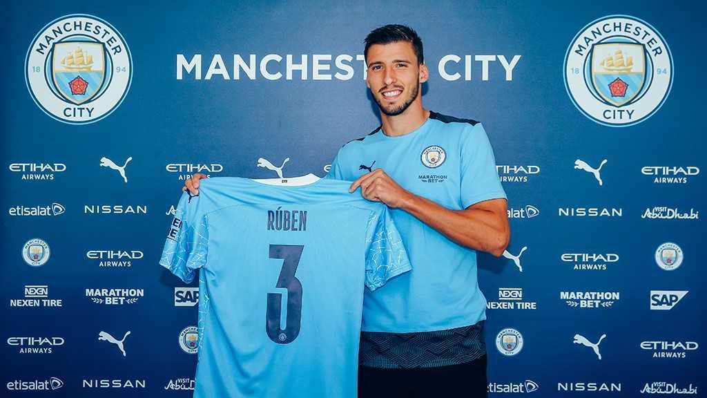 Man City complete £64.3m signing of Ruben Dias