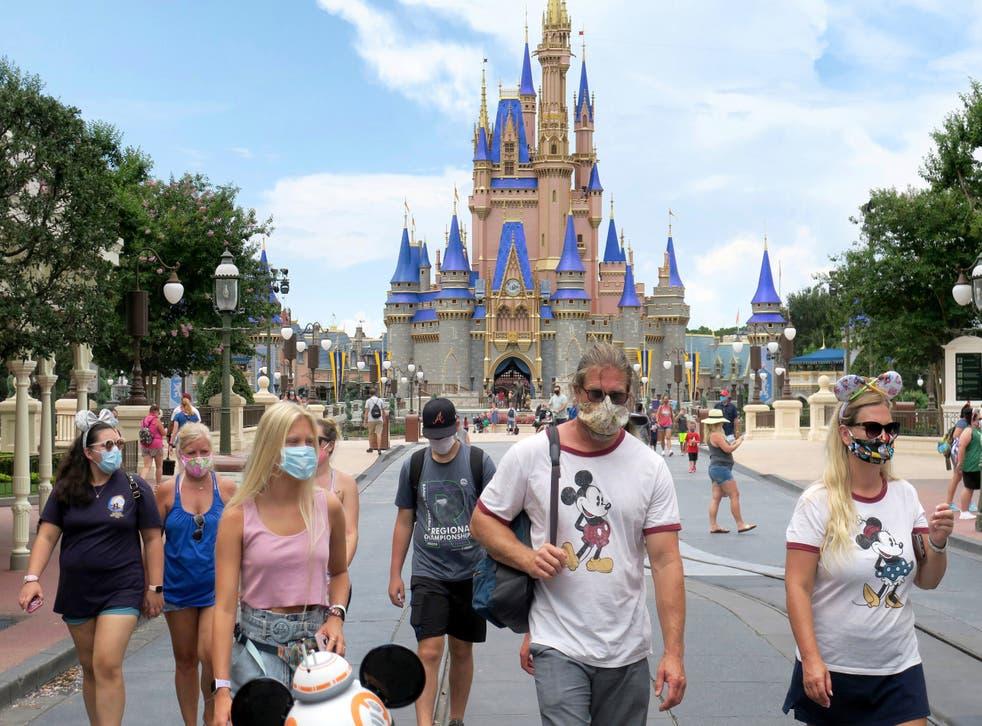 Brote de virus en Disney.