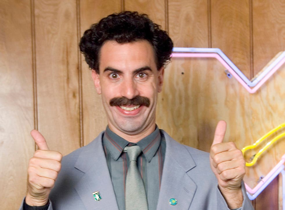 Borat will return for a new film released this November