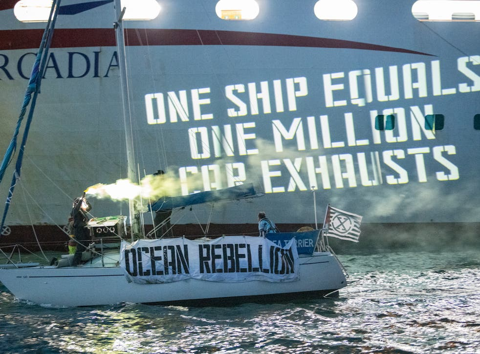 Activists including Team GB sailor Laura Baldwin are calling for greater regulation of ships at sea