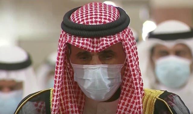 Kuwait's new Emir Nawaf al-Ahmad al-Sabah