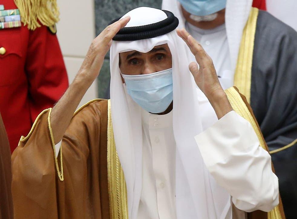 El nuevo emir de Kuwait, Nawaf al-Ahmad al-Sabah