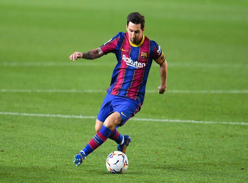 El entrenador del Barcelona aplaudió el discurso de Messi.