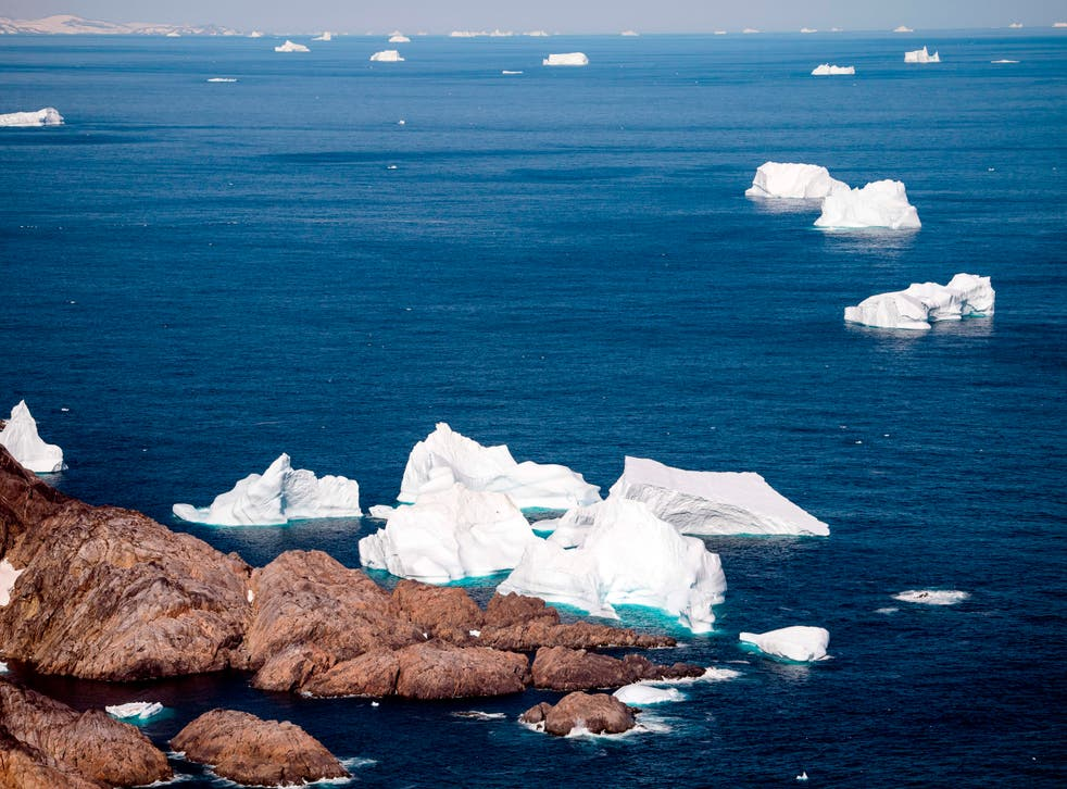Researchers have said their findings into Greenland's rate of ice loss is a 'wake-up call'