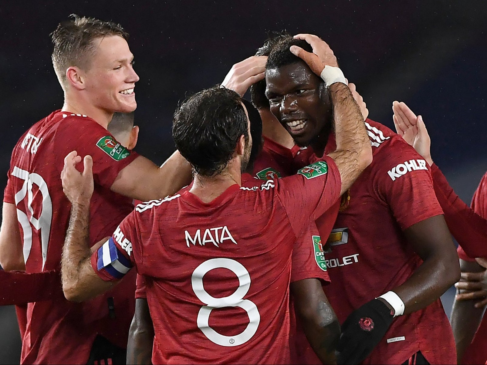 Brighton Vs Manchester United Result Carabao Cup Final Score Goals And Report The Independent