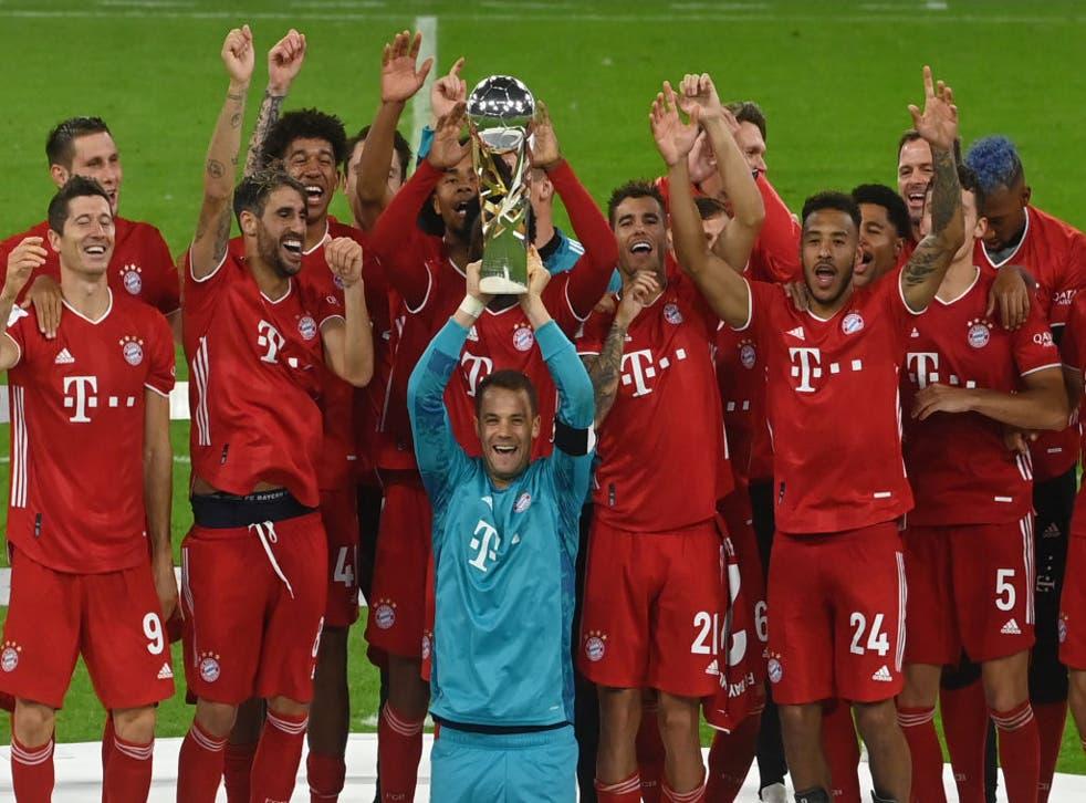 El Bayern Múnich celebra su nuevo título.
