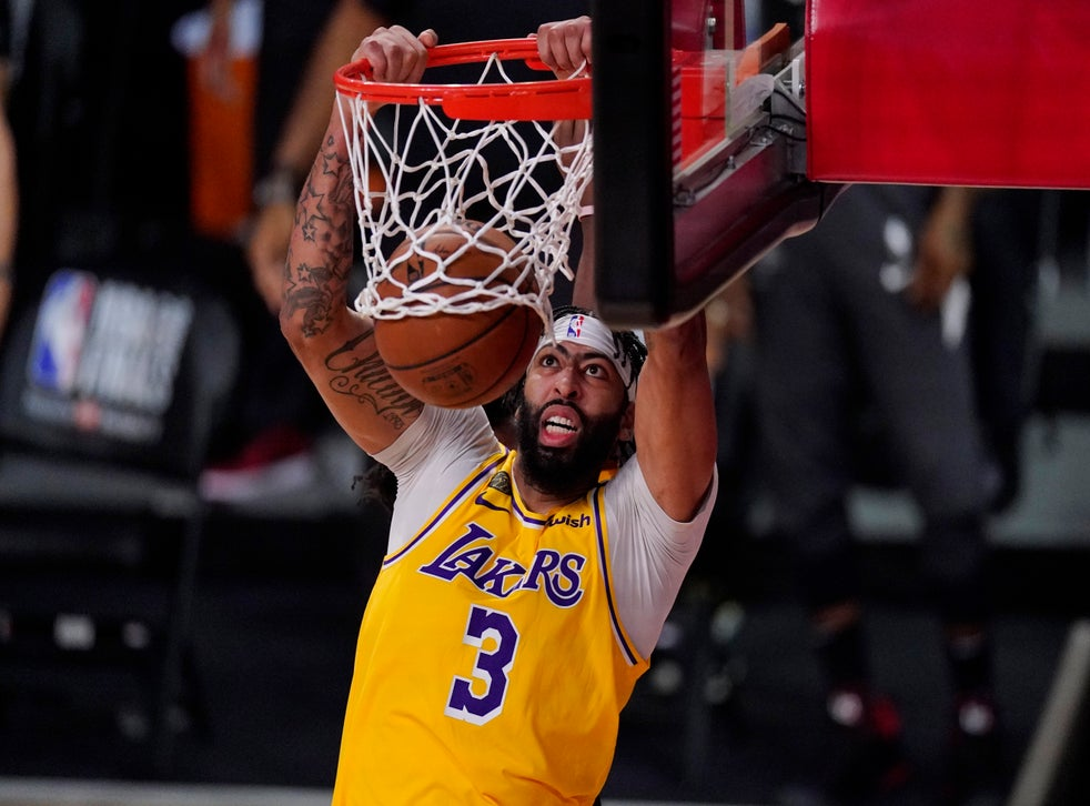 Nba Finals Anthony Davis Inspires La Lakers Rout Of Miami Heat But Lebron James Demands More The Independent