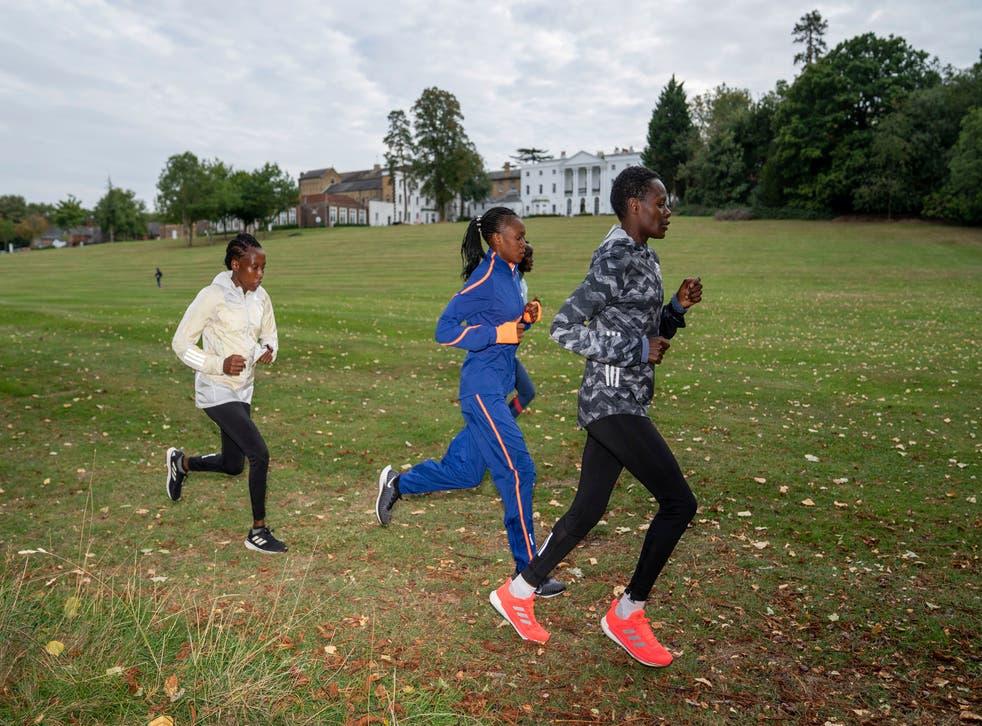 Britain London Marathon