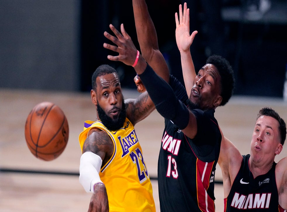Adebayo Back In Heat Lineup For Game 4 Dragic Still Out Heat Ap Game Lineup Game The Independent