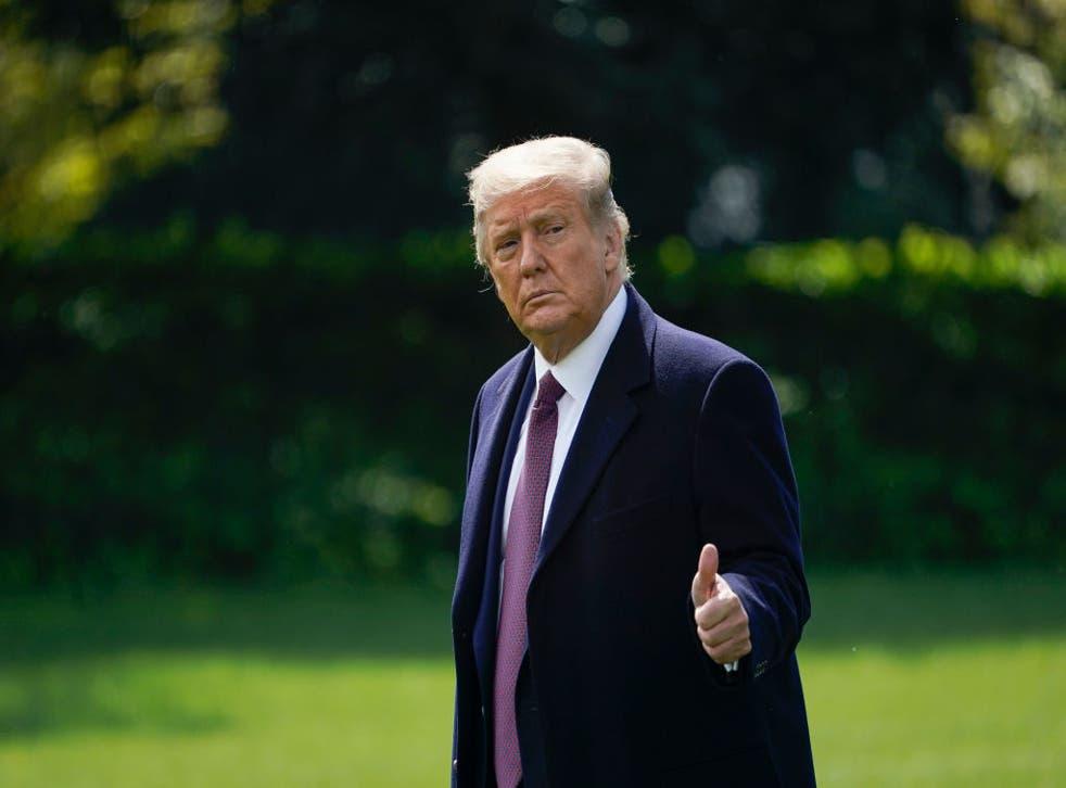 Donald Trump es la mayor fuente de información errónea sobre el coronavirus, según un nuevo estudio.