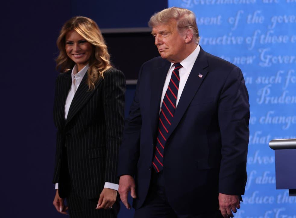 Donald Trump anunció a través de su cuenta de twitter que él y la primera dama Melania dieron positivo a coronavirus.