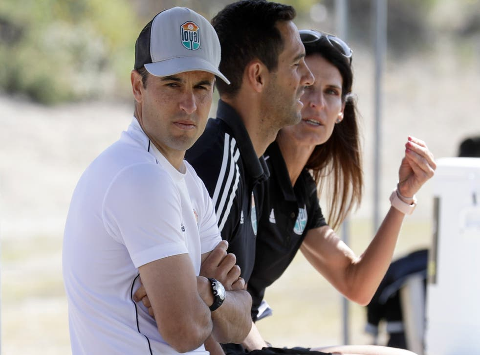 San Diego Loyal manager Landon Donovan praised his players for standing up to the comments