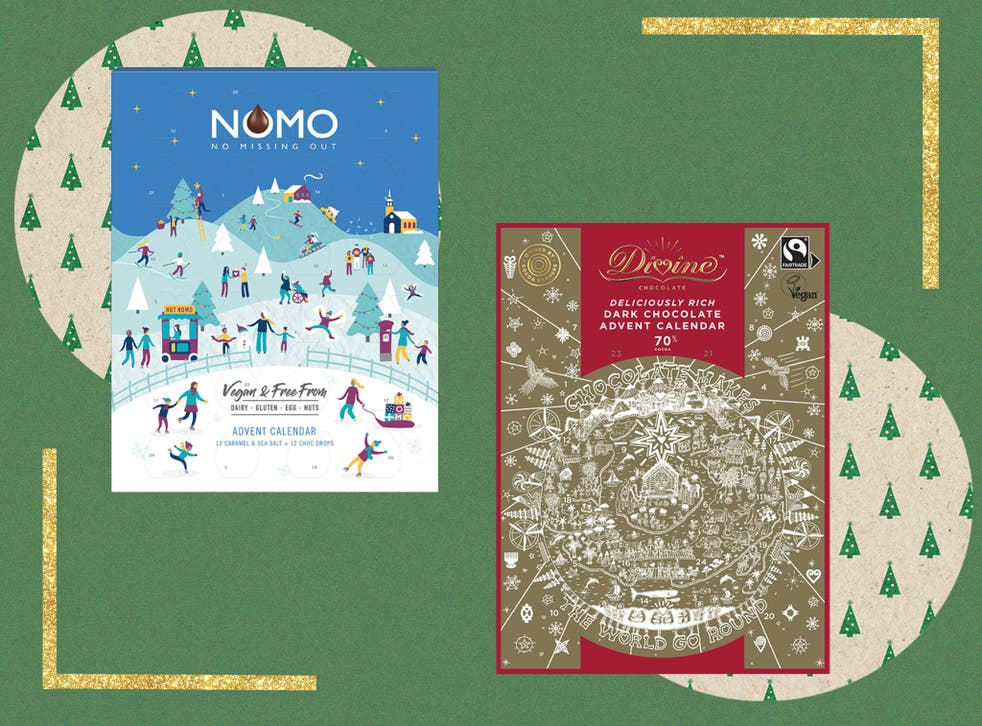 Many of the advent calendars on our list are made by fully vegan brands. Others are filled with dark chocolate that we've checked is dairy-free