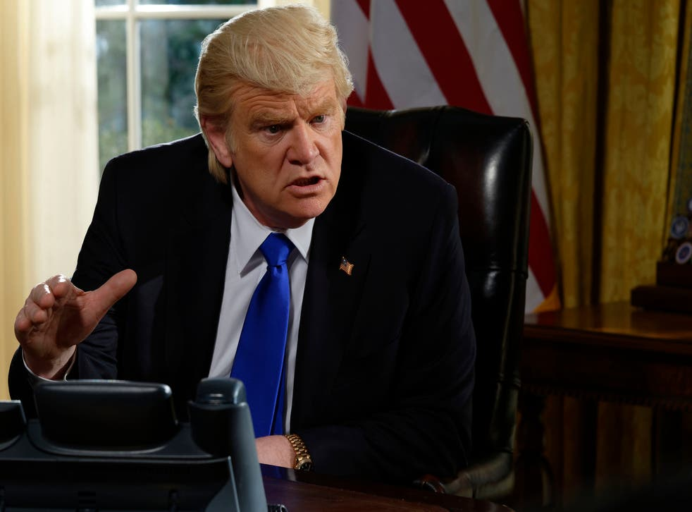 Brendan Gleeson as Trump in 'The Comey Rule'