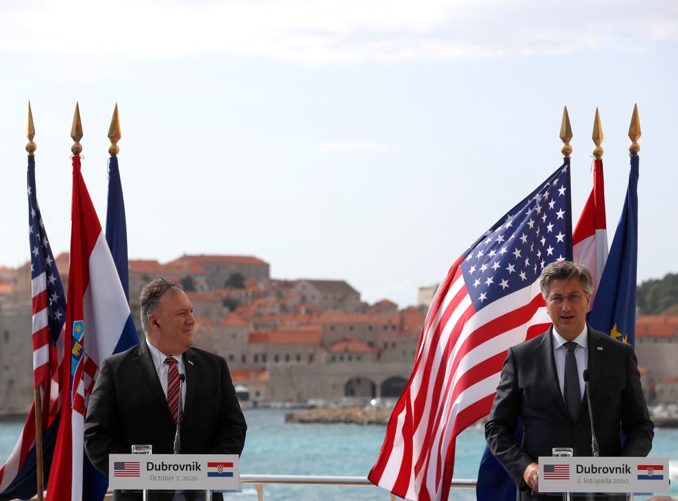 Croatia US Pompeo