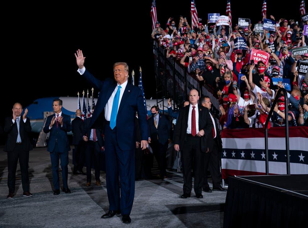 Virus Outbreak Trump Photo Gallery