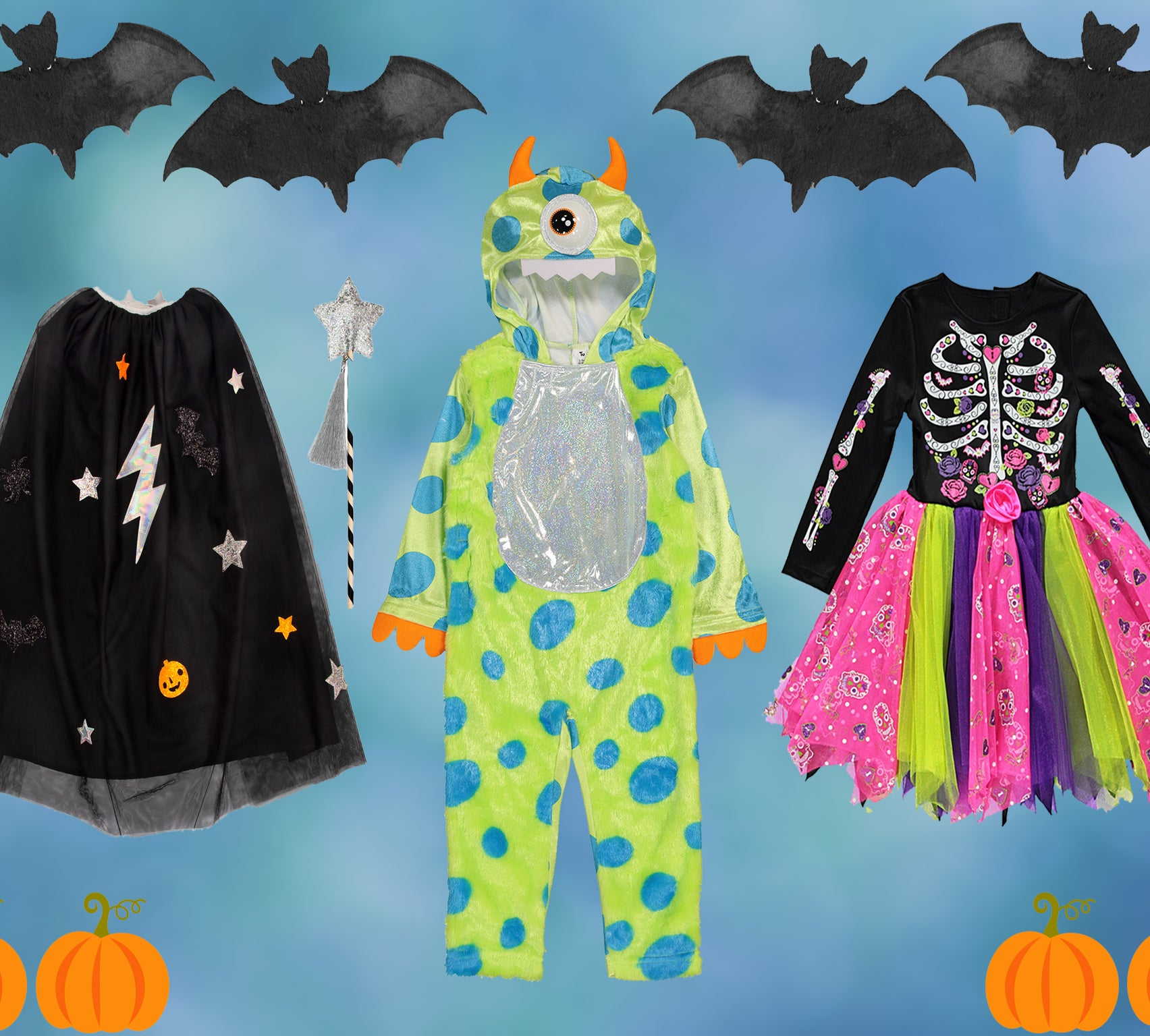 Child/'s Black Bat Fancy Dress Costume Great For Book Week