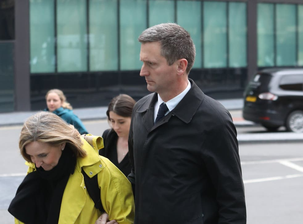 Lord Holmes of Richmond, pictured outside Southwark Crown Court