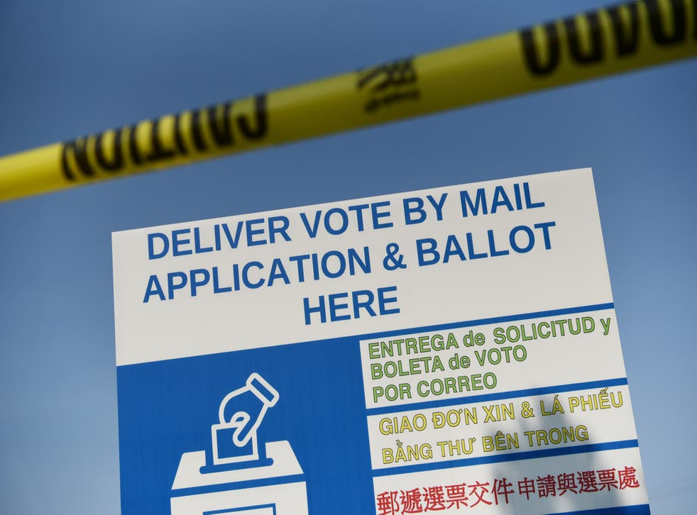 Texas Governor Greg Abbott limited Texas counties to one mail ballot drop-off site per county across the state.