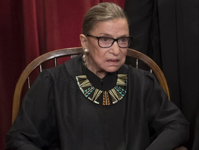 Ruth Bader Ginsburg's dissenting collar is going on sale again