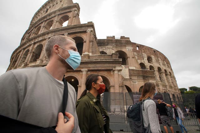 <p>Brote de virus APTOPIX Italia</p>