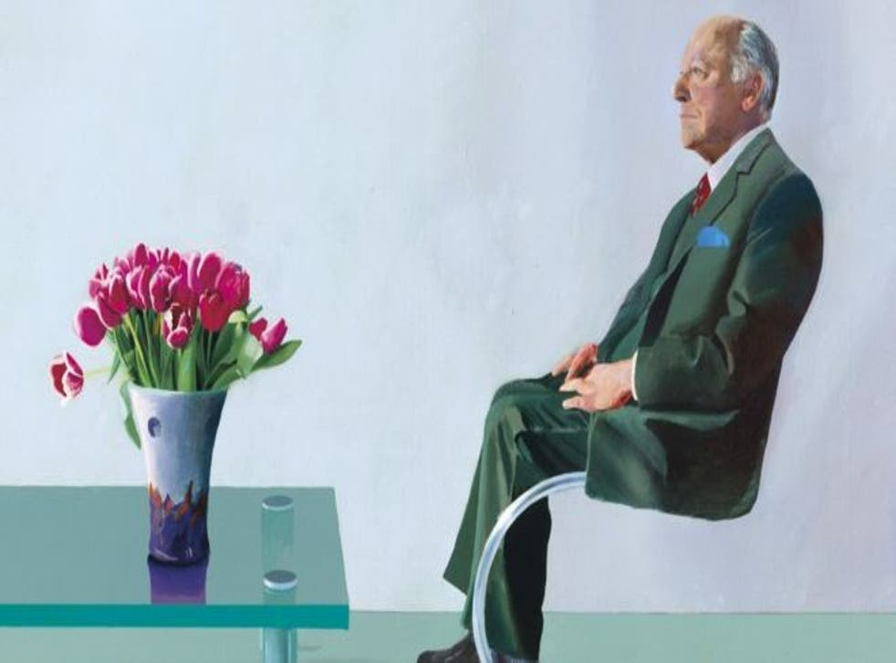 David Hockney's portrait of Sir David Webster