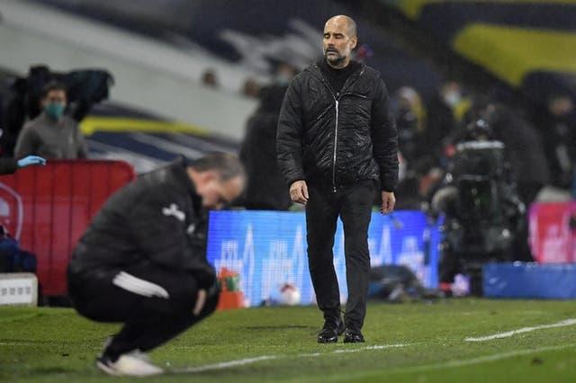 El equipo de Pep Guardiola no pudo con el Leeds de Marcelo Bielsa.