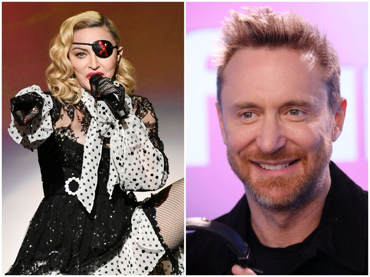 Madonna Refused To Work With David Guetta Because Of His Star Sign Claims Dj The Independent