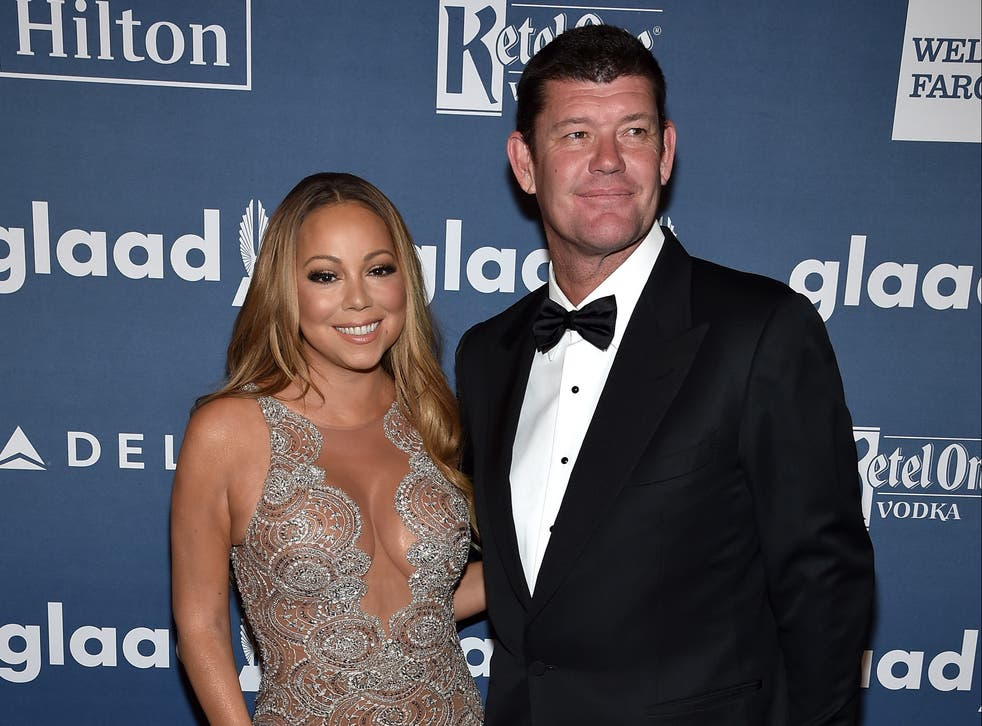 Mariah Carey says she 'didn't have a physical relationship' with her former fiancé James Packer