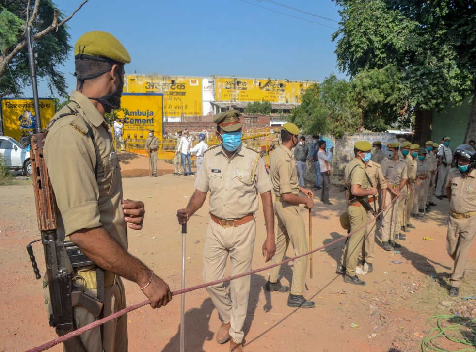 Police in Uttar Pradesh have been criticised for their handling of the Hathras rape case and subsequent political unrest