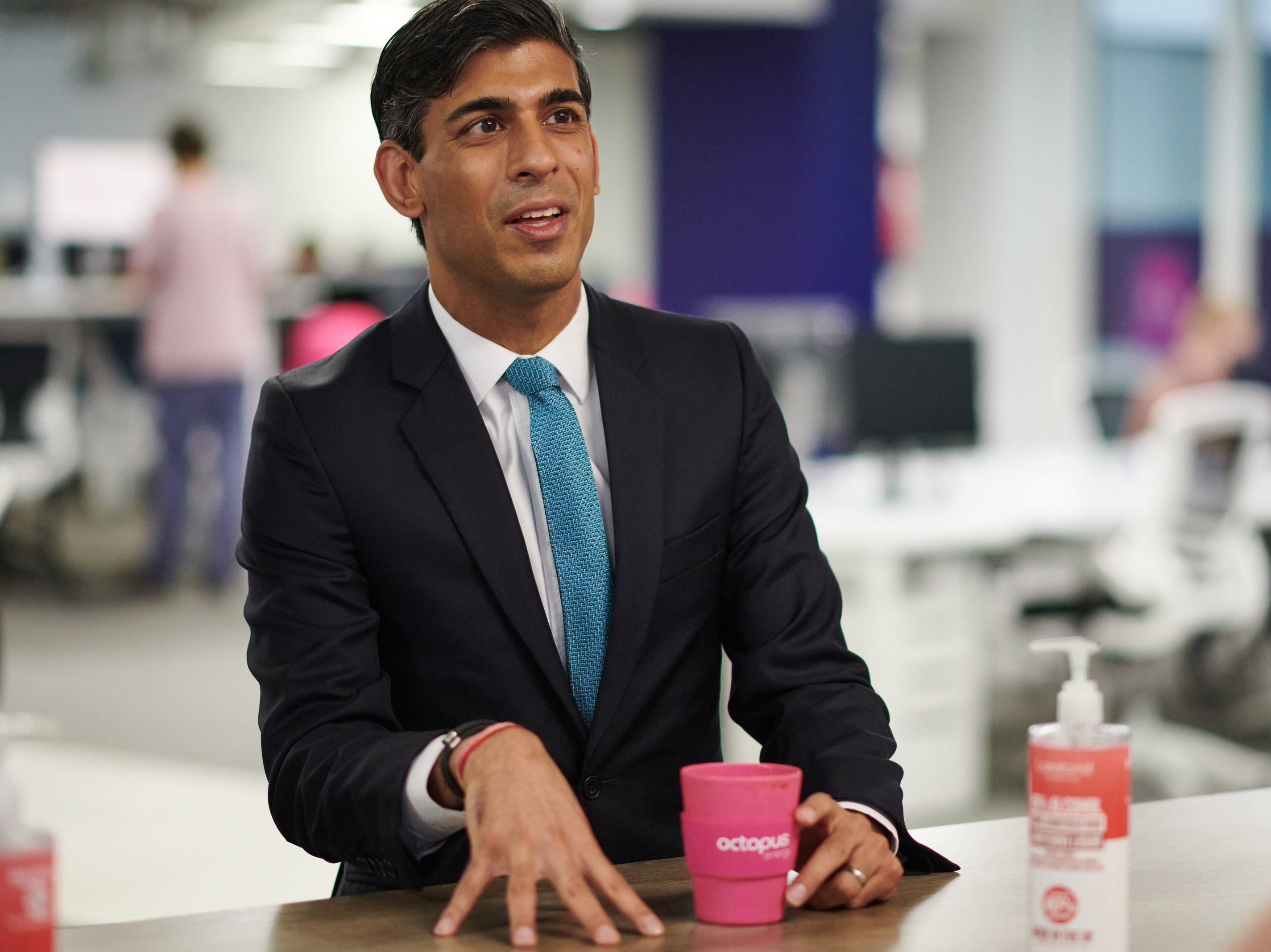 Rishi Sunak The Chemist S Son Who May Have Found The Formula For Leadership The Independent