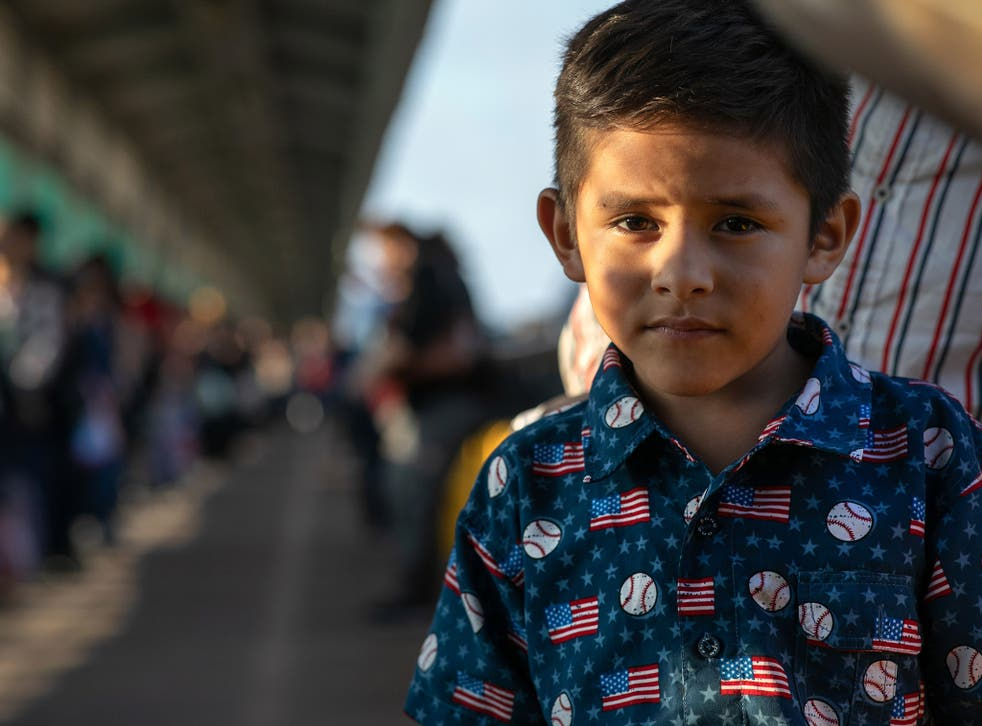 Thousands of children have been forced to wait in Mexican border towns while their asylum claims are processed in the US