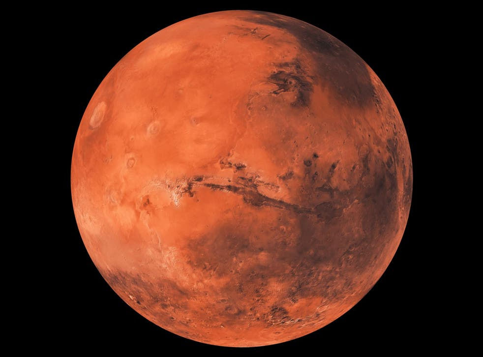 Mars will appear bigger and brighter in the sky in October