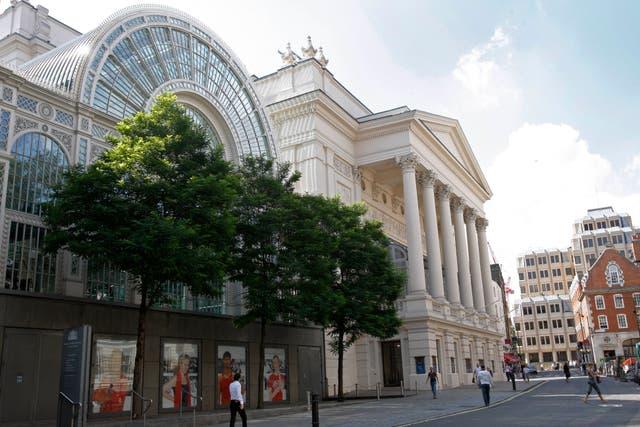 Virus Outbreak Britain Opera House