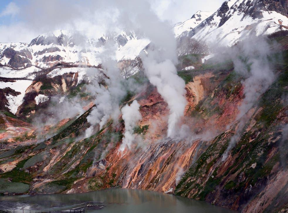 La península de Kamchatka, una península de 1.250 kilómetros de largo en el Lejano Oriente ruso, es popular entre los turistas.