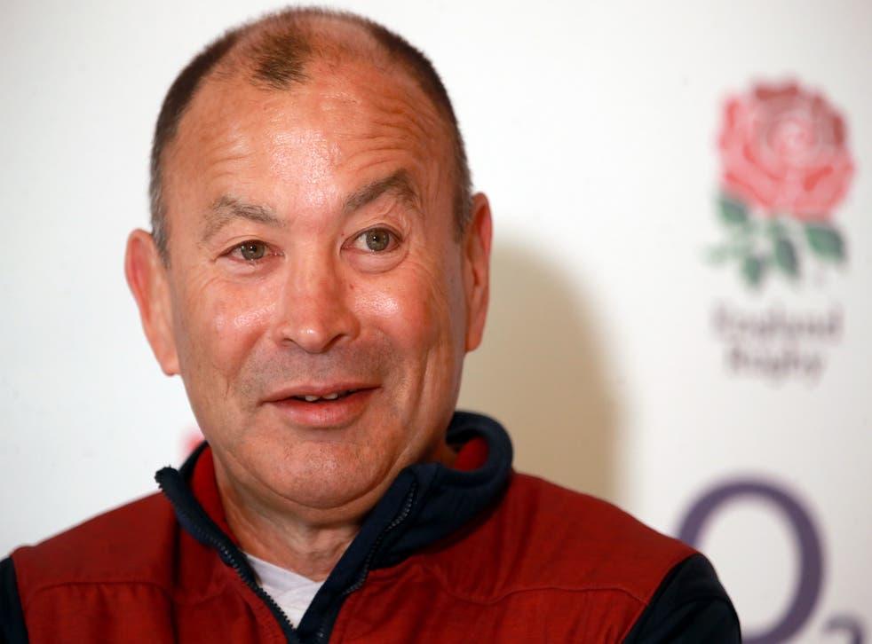 England boss Eddie Jones is waiting on three players' coronavirus tests ahead of their three-day training camp
