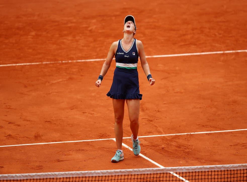 Podoroska venció en dos sets a Elina Svitolina, la tercera preclasificada del Grand Slam