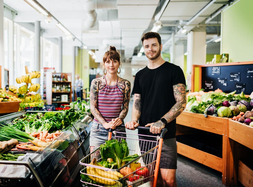 Support from a partner can help to make the switch to meat-free lifestyles
