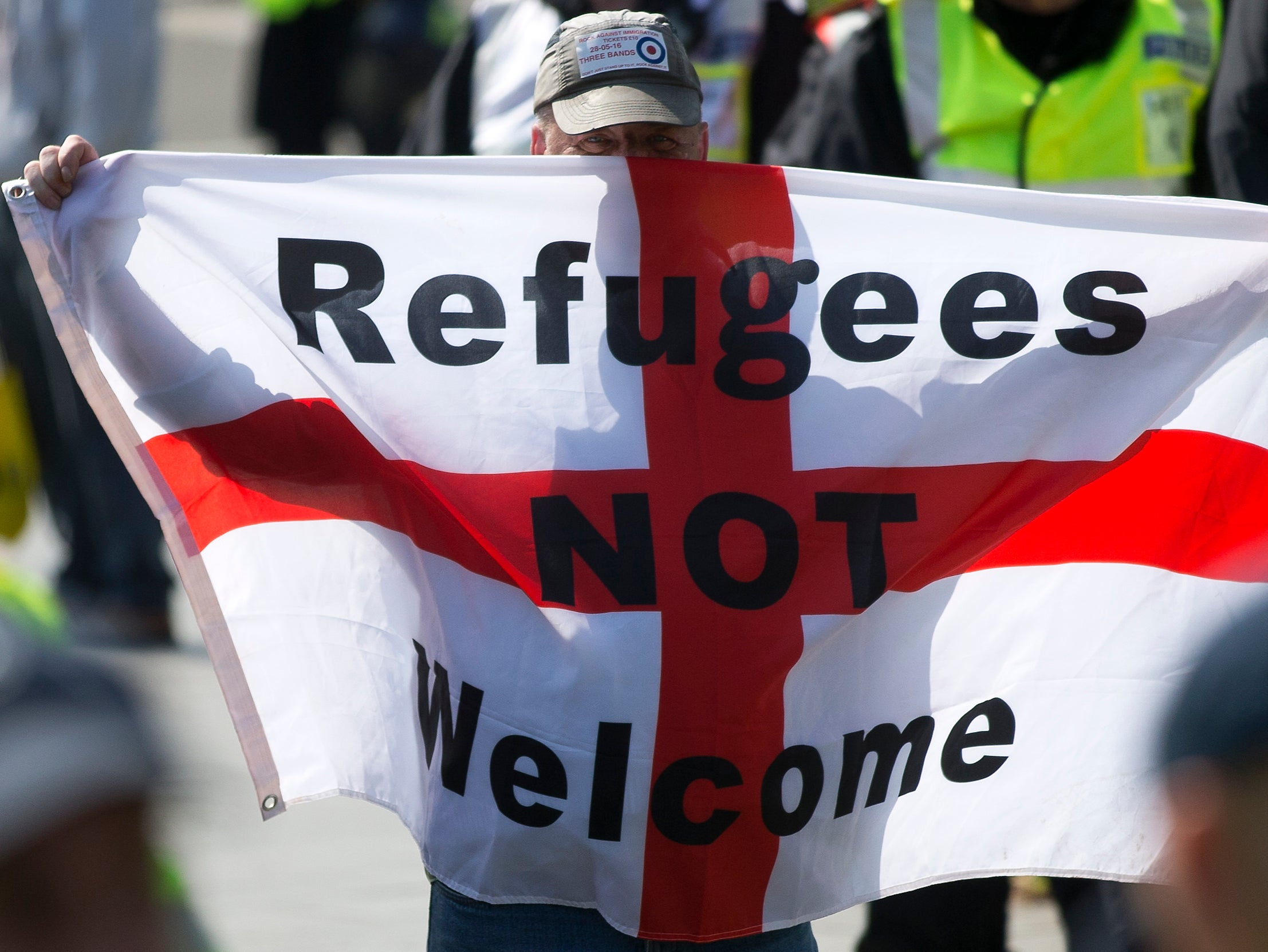 Image 'I'm so scared': They came to the UK seeking safety, only to be targeted by the far right