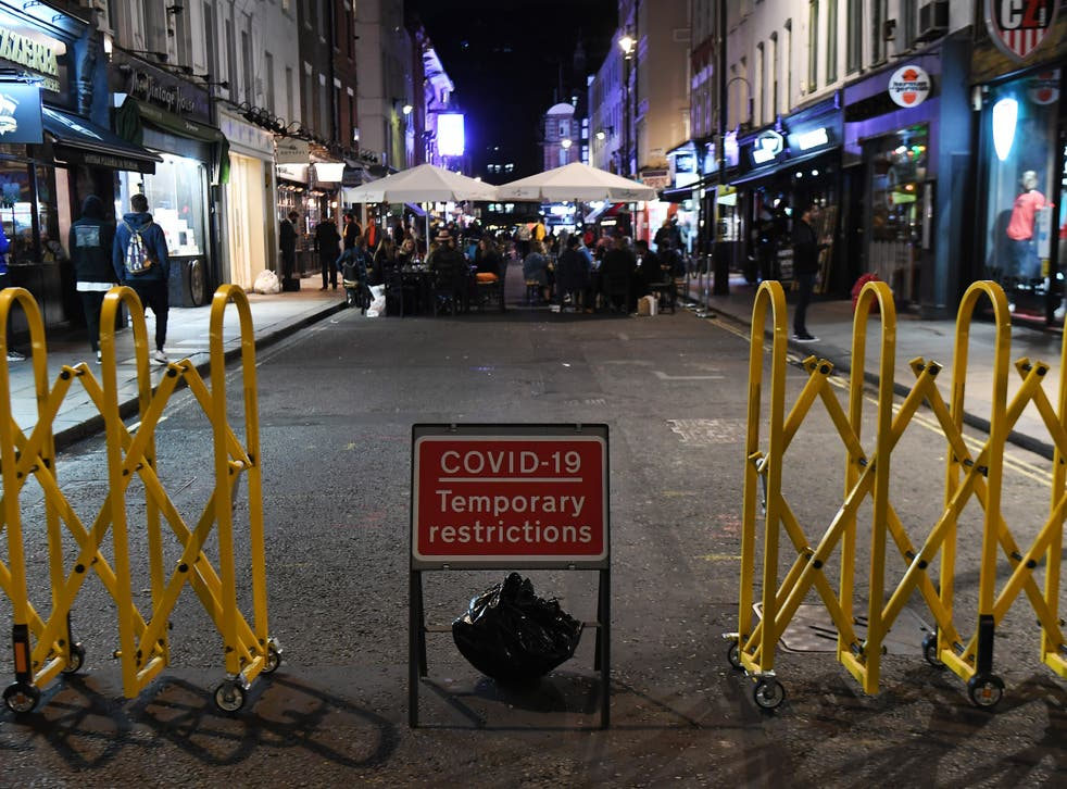 Nightclubs are shut and bars must follow 10pm curfew due to coronavirus