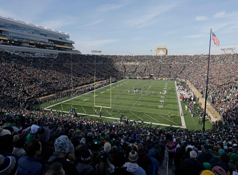 Notre Dame HomeFootball
