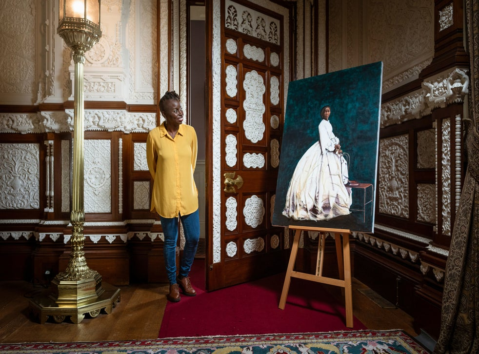 English Heritage unveils portrait of Queen Victoria's African goddaughter  to mark Black History Month | The Independent
