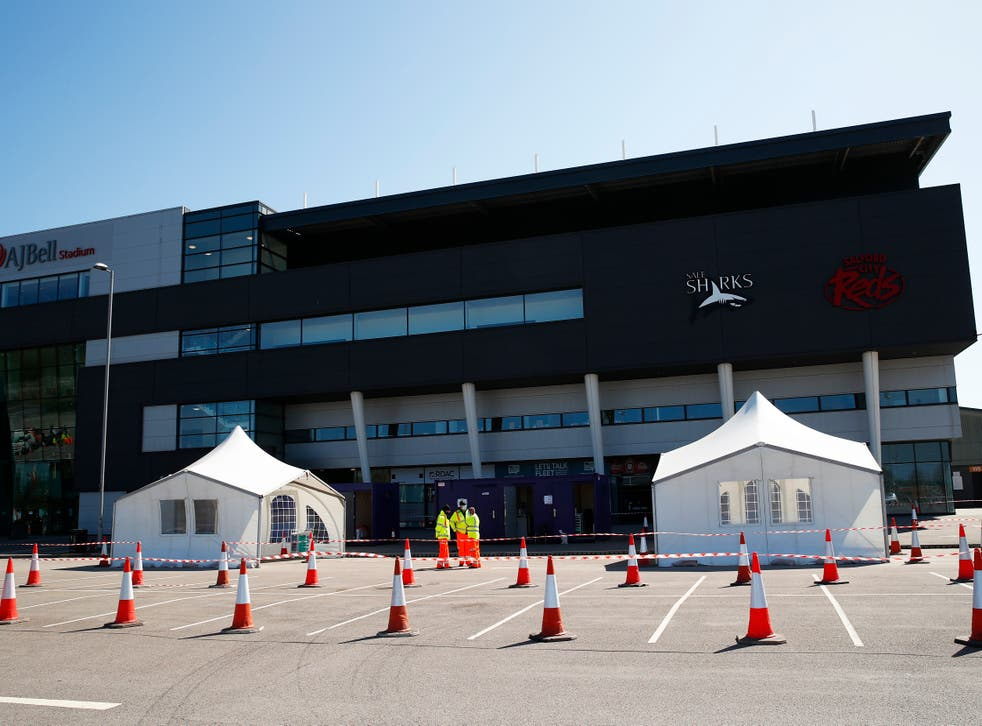 Sale Sharks have had up to 27 players and staff test positive for coronavirus in the last week