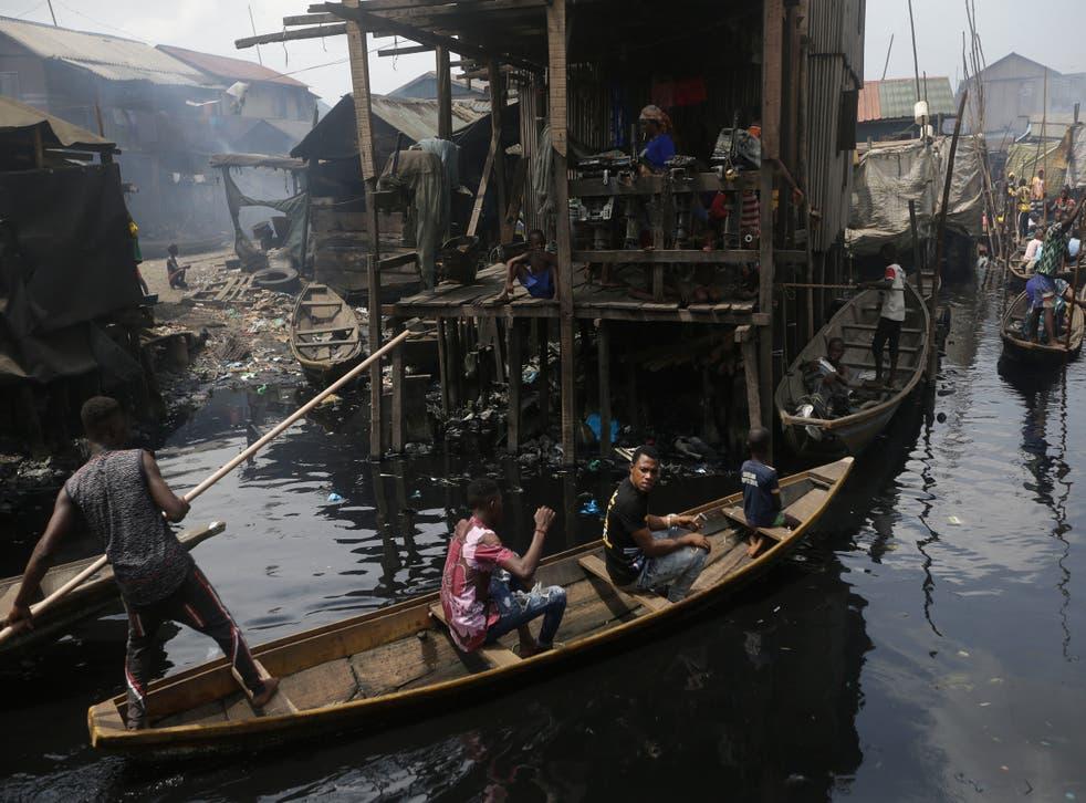 Virus Outbreak Extreme Poverty