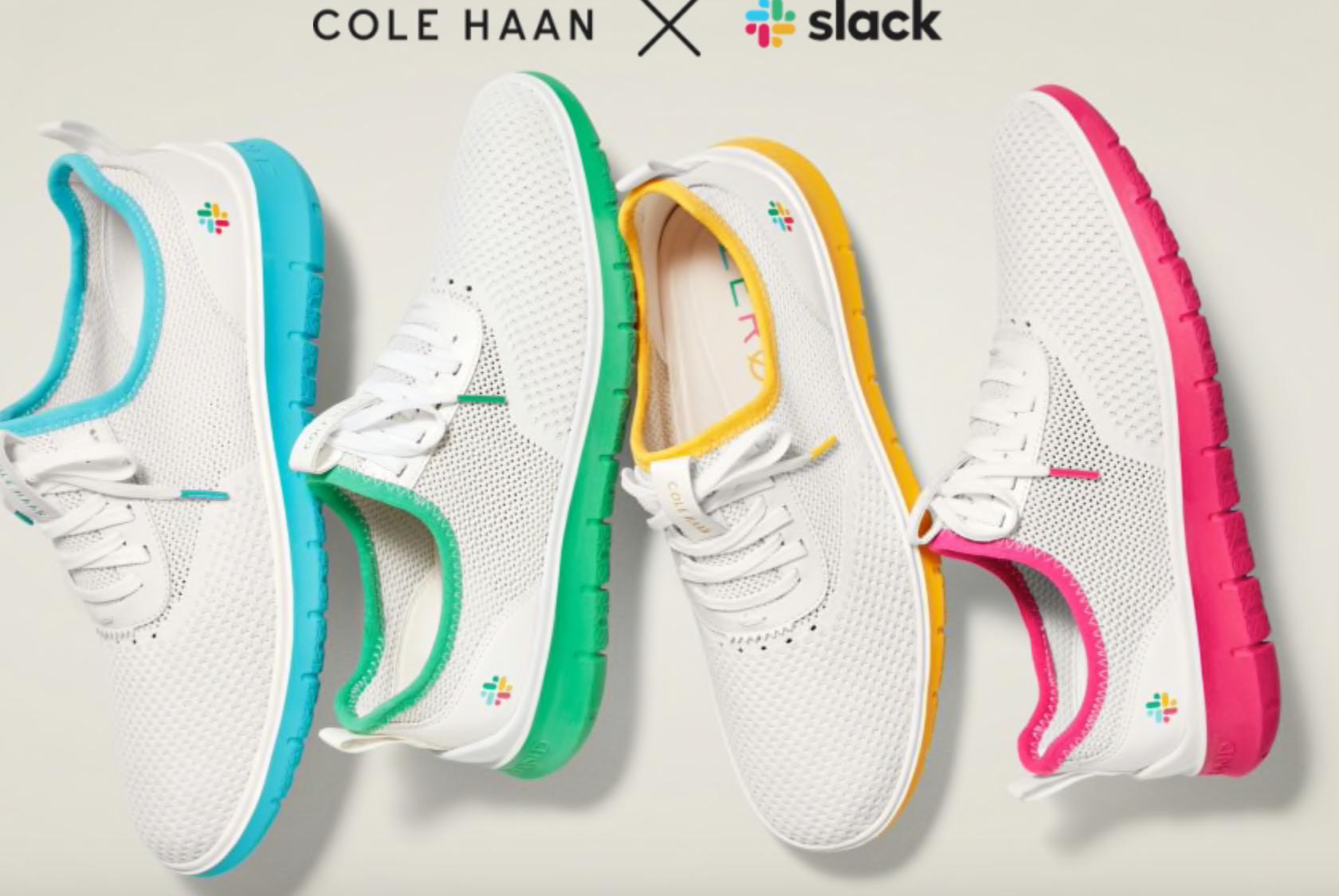 Cole Haan and Slack sneaker