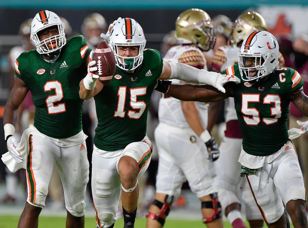 Florida St Miami Football