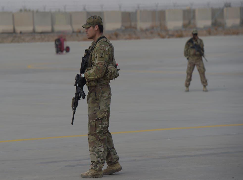 Las tropas estadounidenses han estado en Afganistán durante más de 19 años.