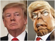 US channel NBC were concerned Spitting Image would upset Trump