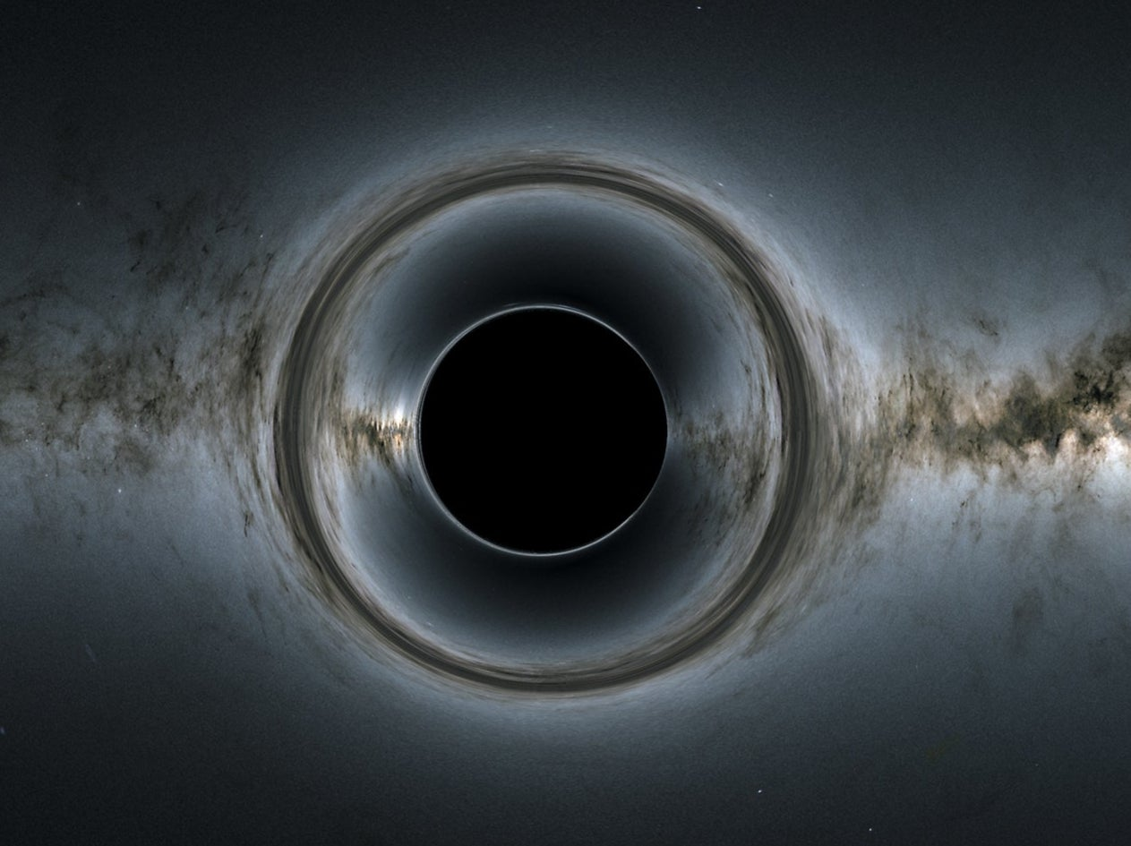 Another universe existed before ours – and energy from it is coming out of black holes, says Nobel Prize winner
